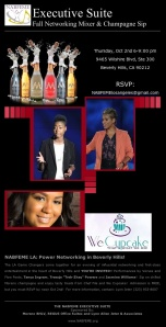 Champagne Sip, Poets & Beverly HIlls Power Networking!
